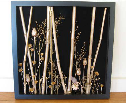 Handcrafted Shadow Box: Karen Char - Forest Fairy