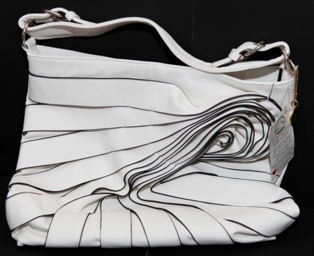 Big Buddha Valentino-Inspired Designer Bag in White - $78