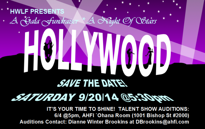 Fundraiser 2014 - SAVE THE DATE!